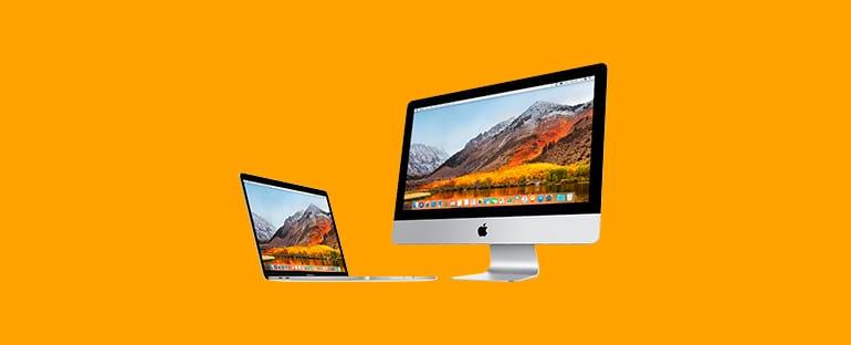 Чистая установка macOS High Sierra