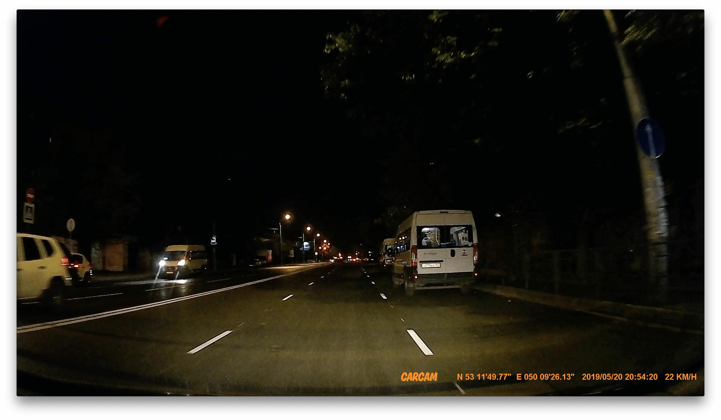 CARCAM COMBO 5S - ночь