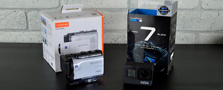 GoPro HERO7 Black vs Sony x3000