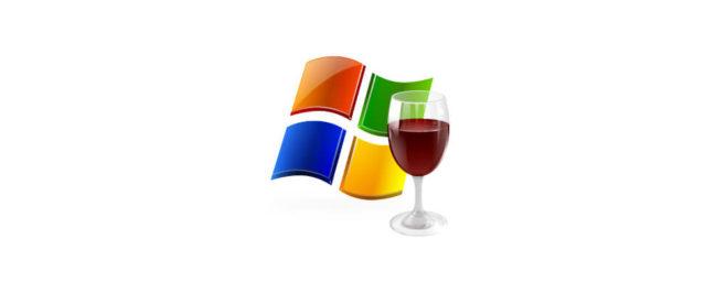 Установка Wine