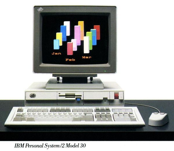 Компьютеры IBM's PS/2 будут клонированы