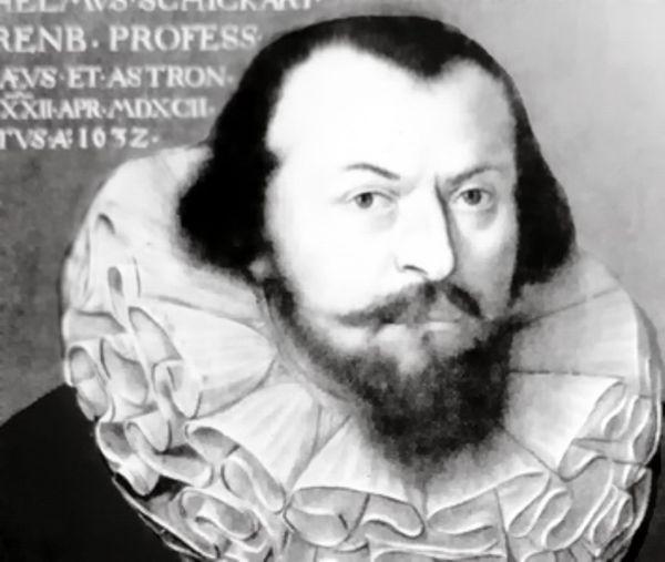 Родился создатель механического калькулятора Шиккард