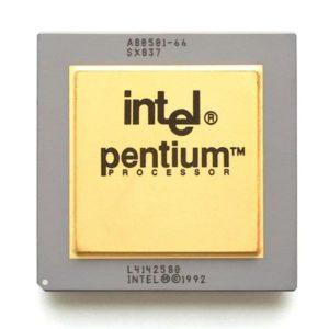Intel начала поставки чипов Pentium