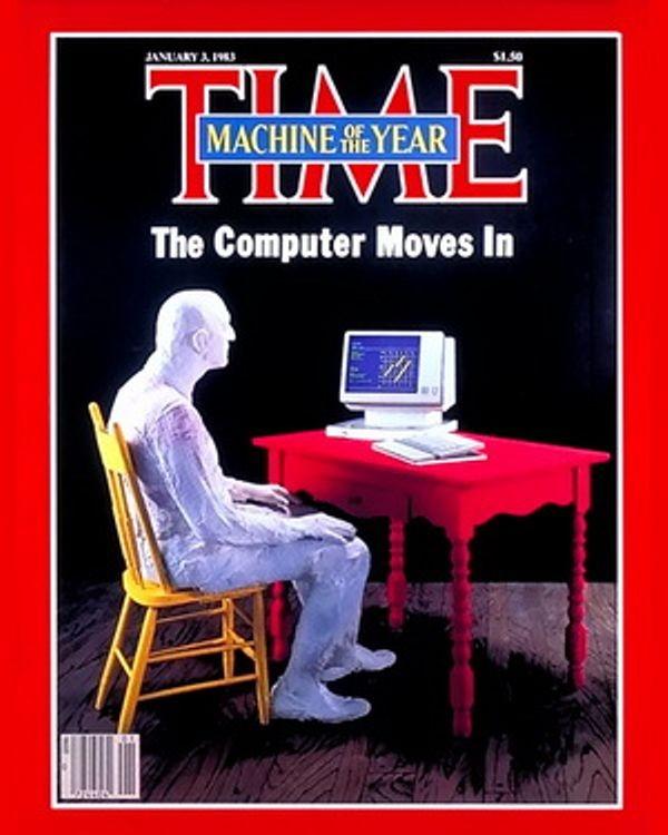"""Журнал Time назвал нечеловека """"Человеком года"""""""