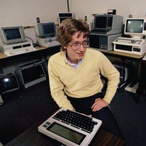 Билл Гейтс начинает свою карьеру