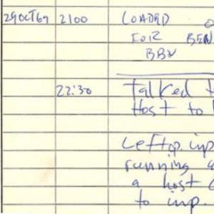 Первая ссылка ARPANET введенна в эксплуатацию