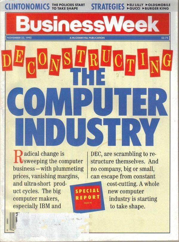 Business Week предсказывает трудности компьютерной индустрии