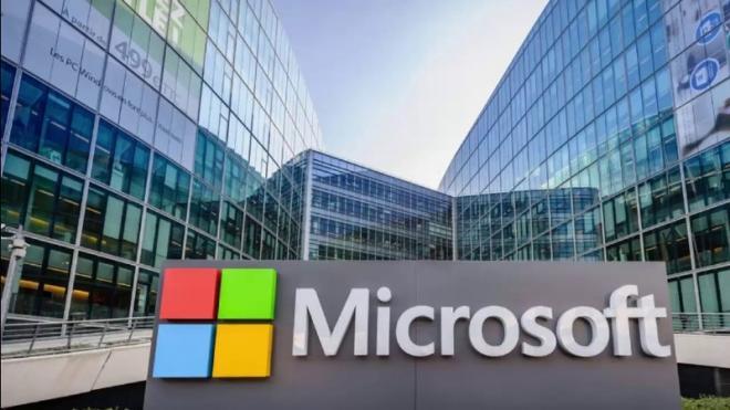 Выручка Microsoft превысила 1 миллиард долларов