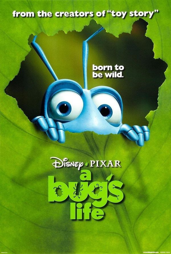 Pixar выпустила A Bug's Life и Geri's Game