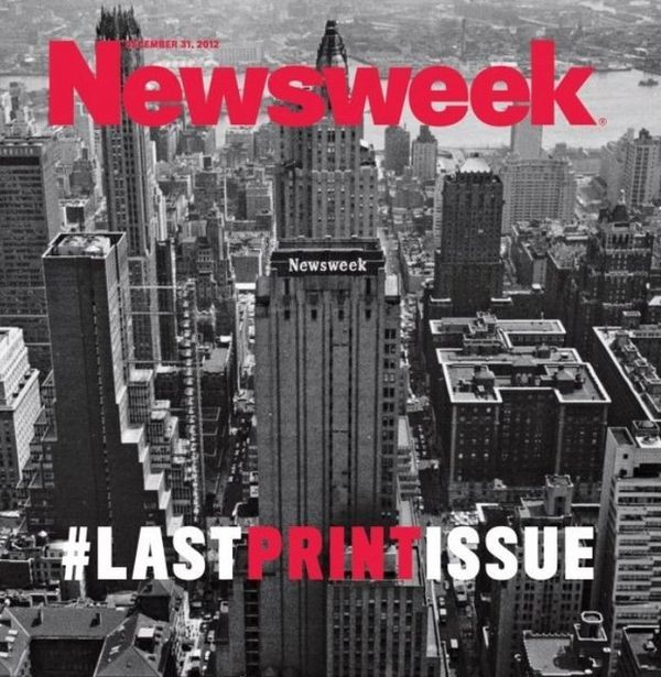 Newsweek объявила о переходе на онлайн-формат