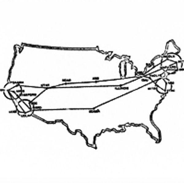 Произошла крупная авария в сети, которая привела к краху ARPANET