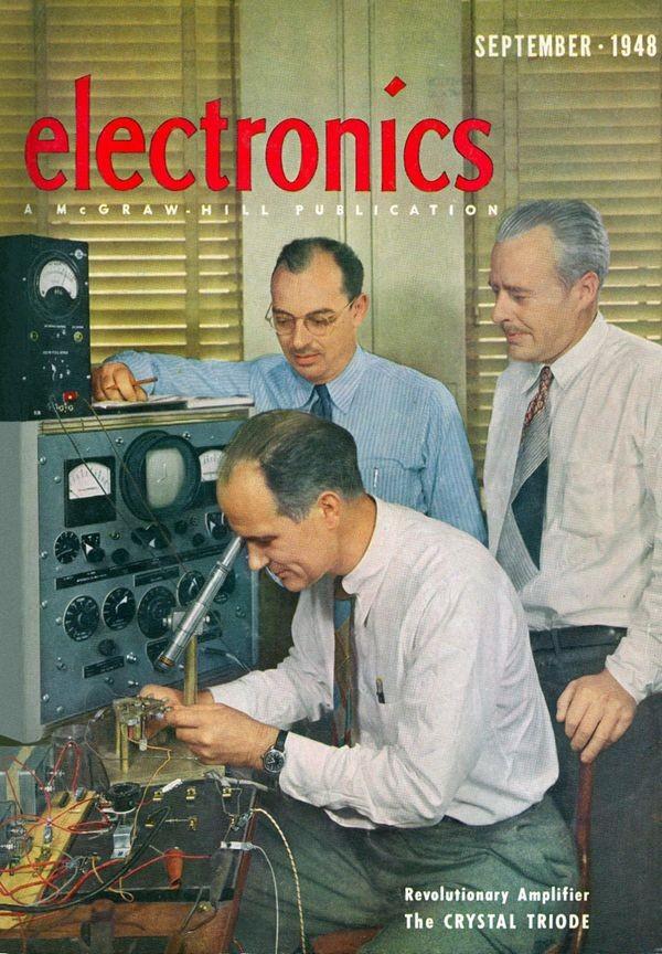 Изобретатели транзисторов получили патент