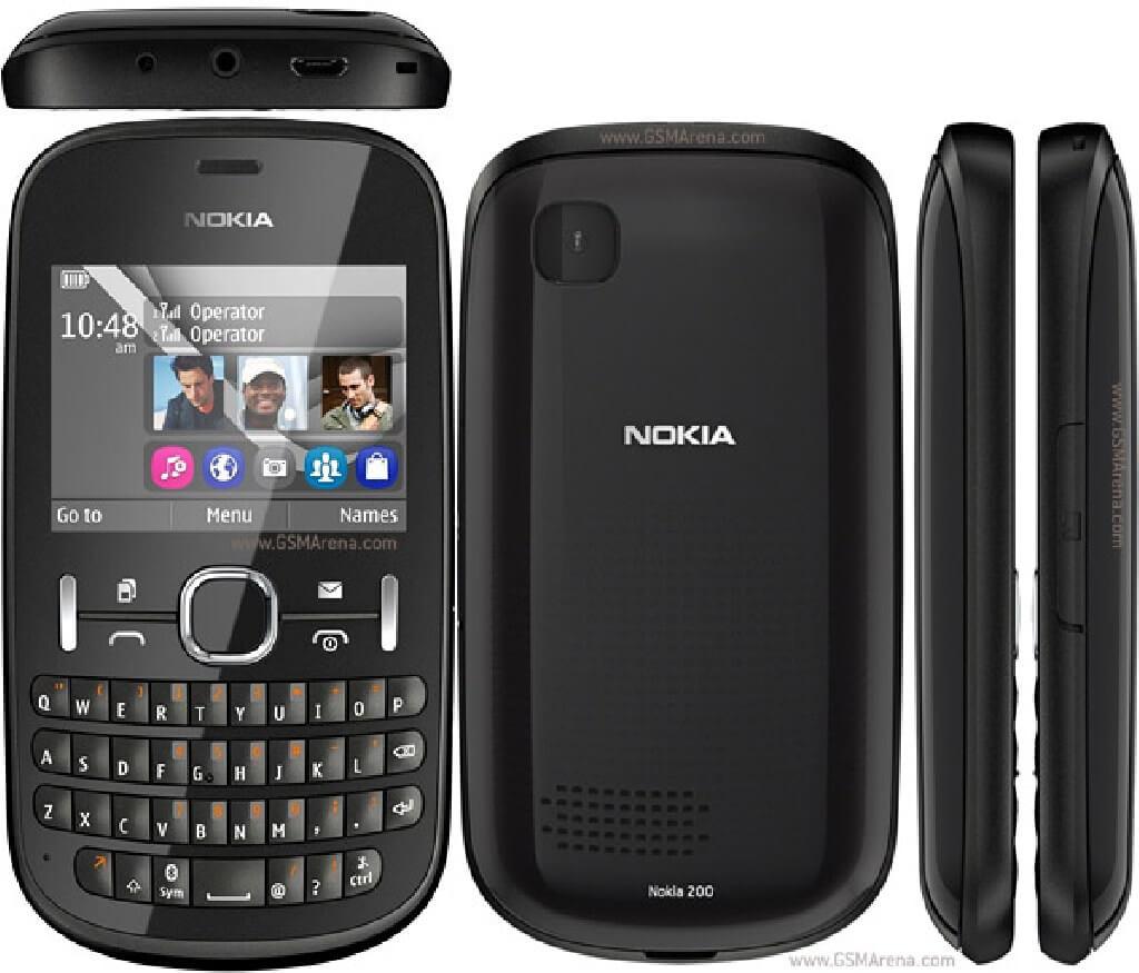 Выпущен Nokia Asha 200
