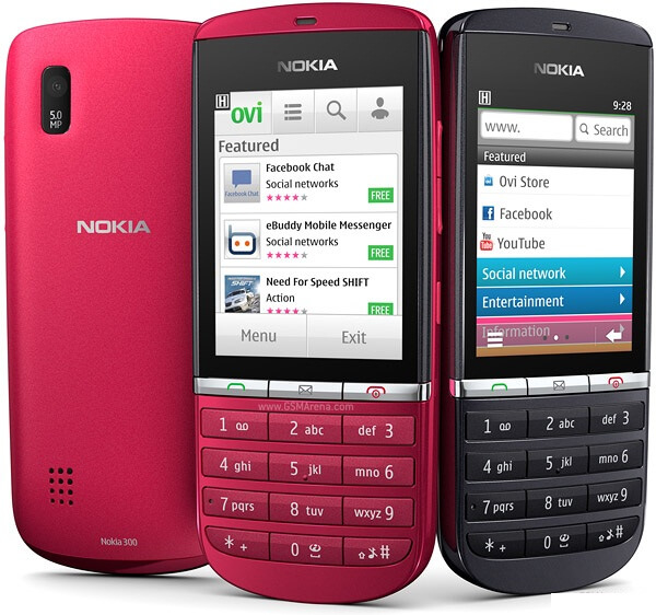 Выпущен Nokia Asha 300