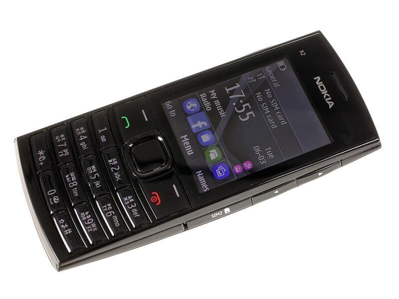 Выпущен Nokia X2-02