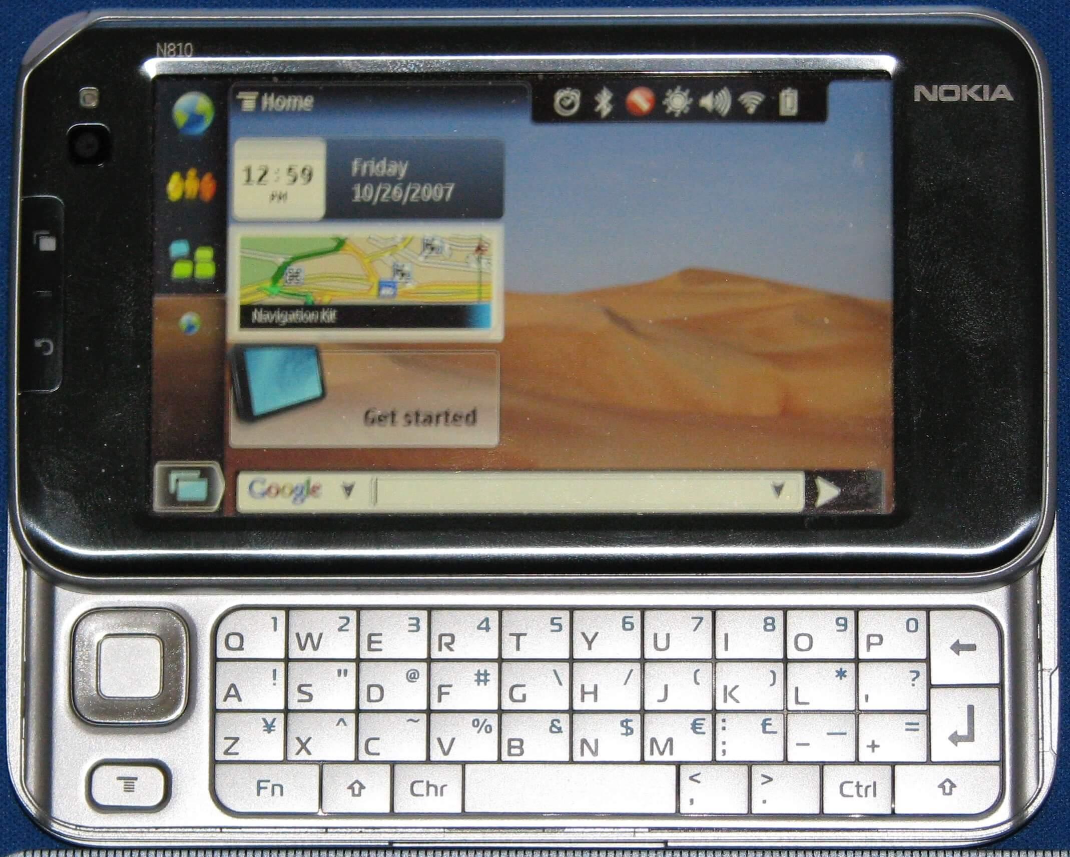 Представлен Nokia N810