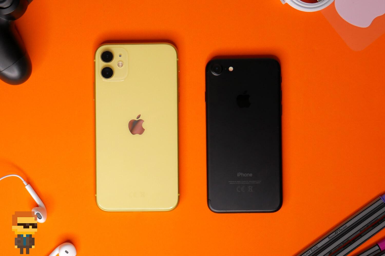iPhone 11 vs iPhone 7