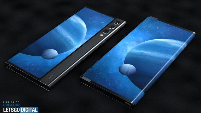 Гибкий складной телефон Xiaomi — на рендерах