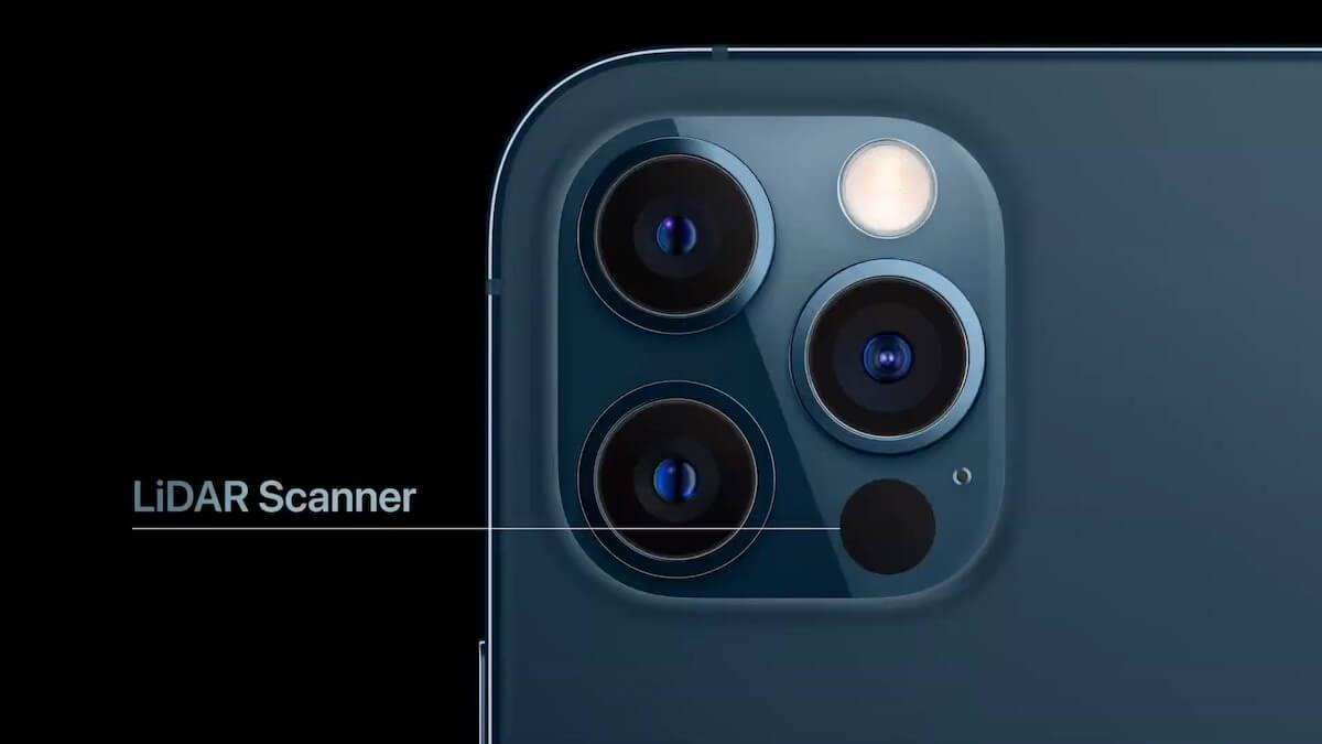 Очки Apple и 4 iPhone с лазерным лидаром — подробности
