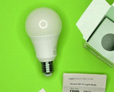 Обзор TP-Link Tapo L510E — лампа под управлением Солнца