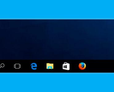 Что делать, если пропали значки панели задач Windows 10