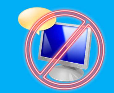 Отключение экранного диктора в Windows 10