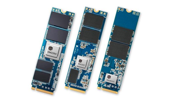Silicon Motion разрабатывает контроллеры PCIe 5.0 для SSD со скоростью 64 ГБ/с