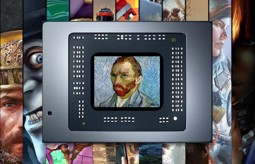 В APU Van Gogh разглядели намек на портативную игровую консоль Microsoft