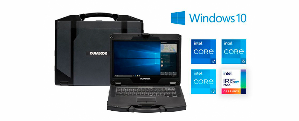 Durabook представила защищенный ноутбук S14I с Intel Tiger Lake 11-го поколения