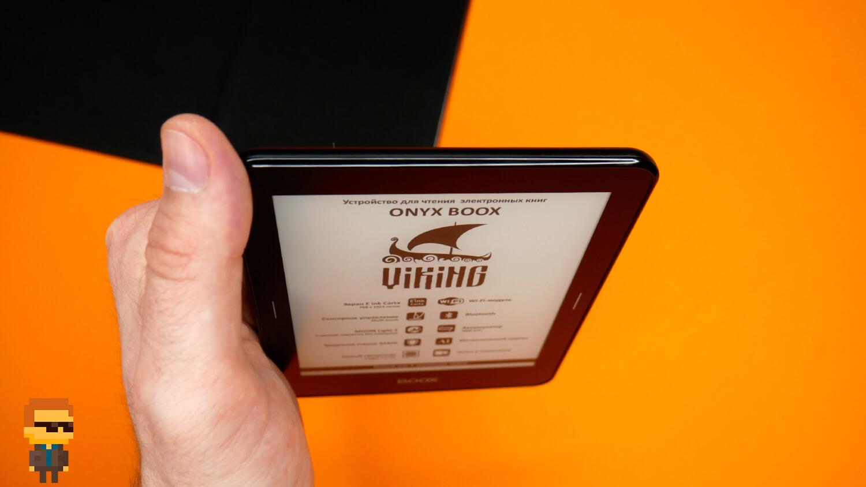 Обзор ONYX BOOX Viking — электронной книги с E Ink дисплеем