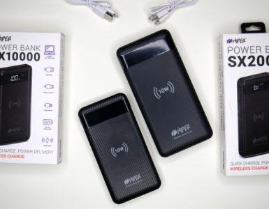 Обзор HIPER Wireless Power Bank SX — плюс 20 000 мАч к батарее телефона