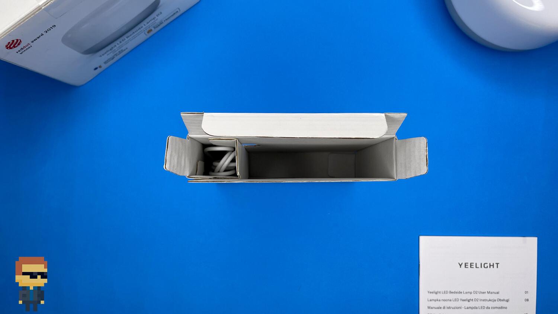 Обзор Yeelight LED Bedside Lamp D2 — коробка