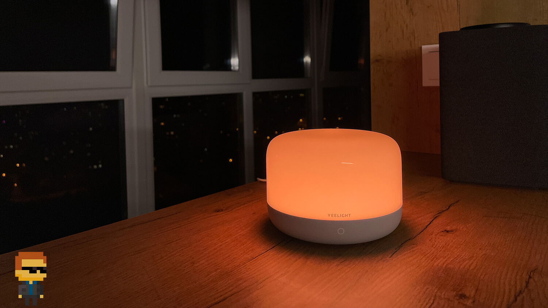 Yeelight LED Bedside Lamp D2 –цвета