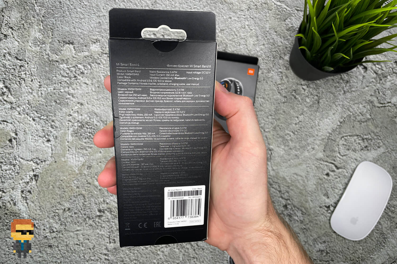 Обзор фитнес-браслета Xiaomi Mi Band 6