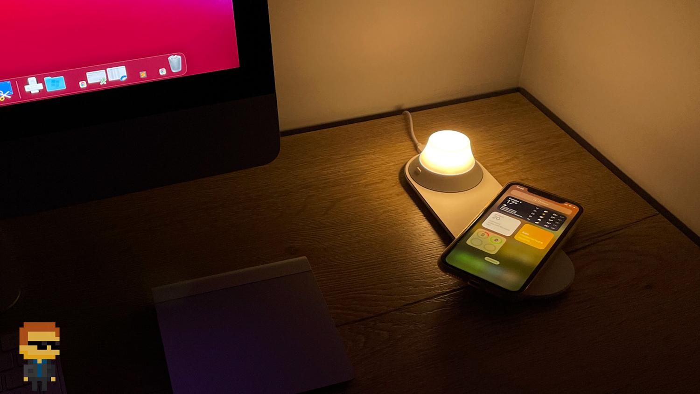 Обзор Yeelight Wireless Charge Nightlight — беспроводная зарядка и ночник на сутки без розетки