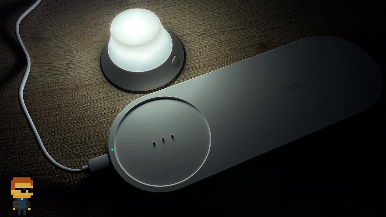 Обзор Yeelight Wireless Charge Nightlight — прикроватная беспроводная зарядка, яркий ночник