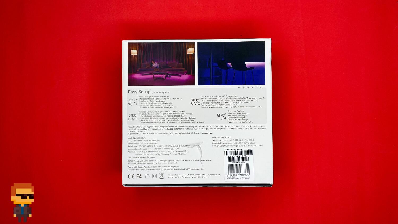 Обзор Yeelight Aurora Lightstrip Plus – упаковка