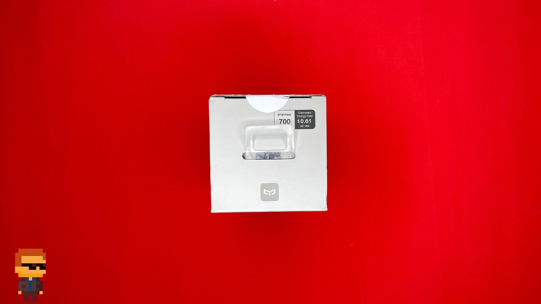 Обзор Yeelight Smart LED Filament Bulb – коробка