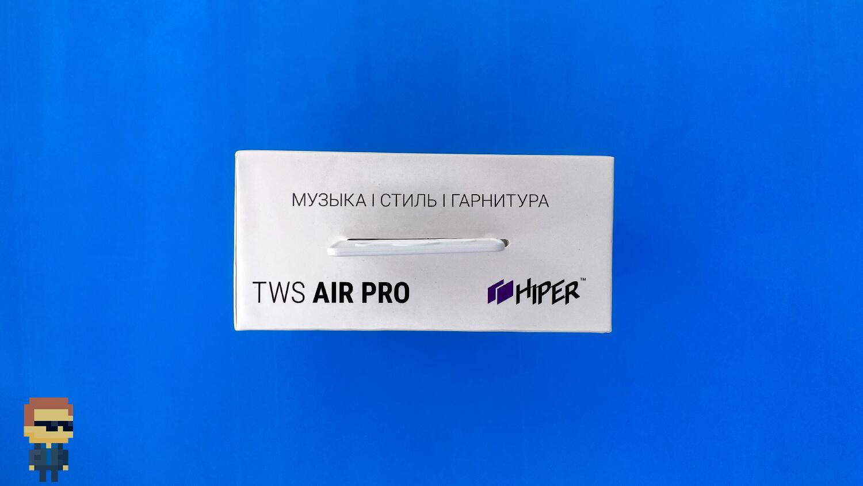 Обзор наушников HIPER TWS AIR PRO