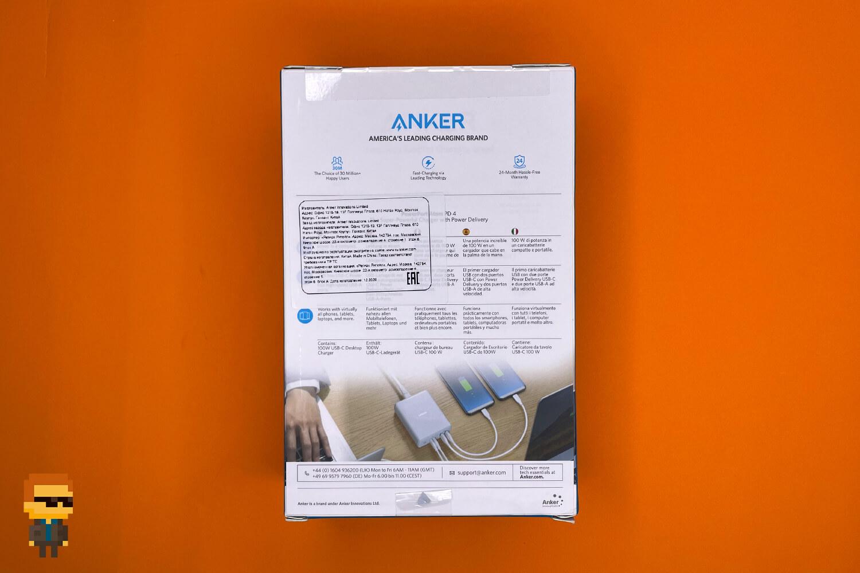 Anker PowerPort Atom PD 4 – упаковка