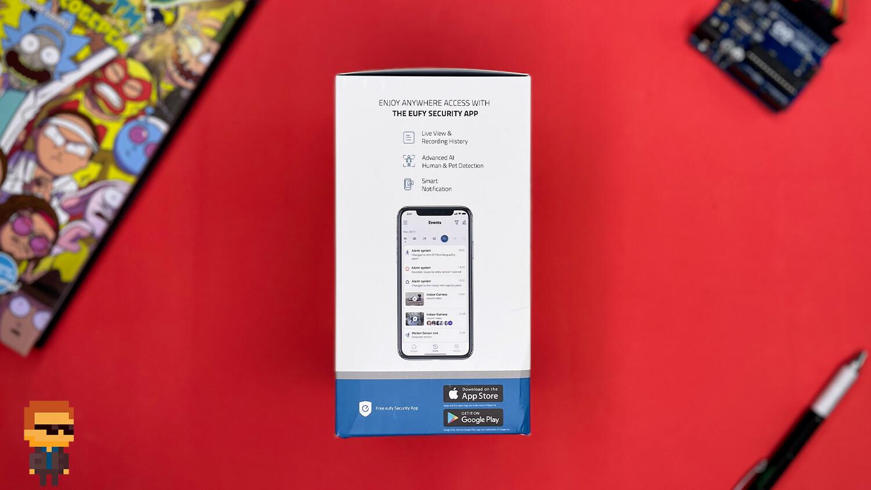 Обзор камеры eufy Indoor Cam 2K PTZ – упаковка