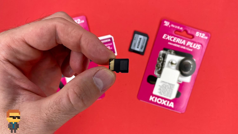 Обзор карт памяти KIOXIA EXCERIA PLUS SDXC UHS-I и MicroSDXC