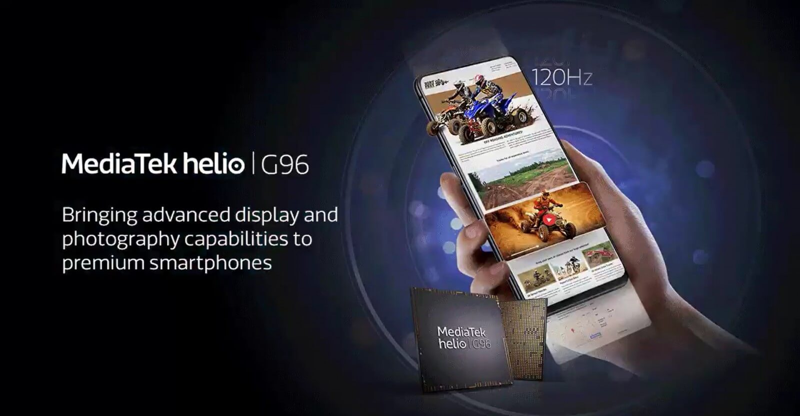 MediaTek представила процессоры Helio G96 и Helio G88