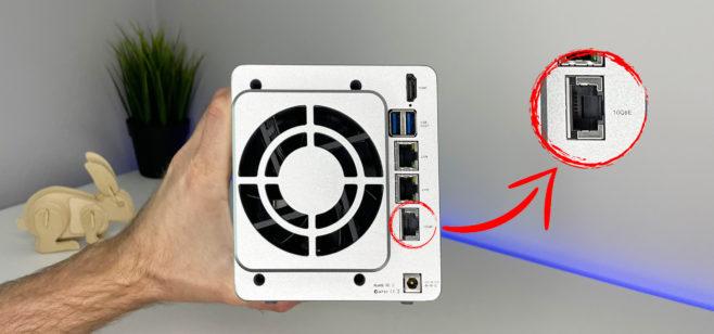 Обзор TNAS TerraMaster F2-422 10GbE — личного облака на 32 Тб с 10-гигабитным Ethernet