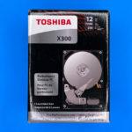 HDD Toshiba X300 Performance 12 Тб – упаковка