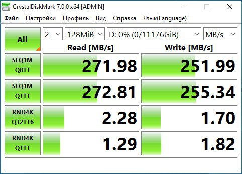 HDD Toshiba X300 Performance 12 Тб — CrystalDiskInfo