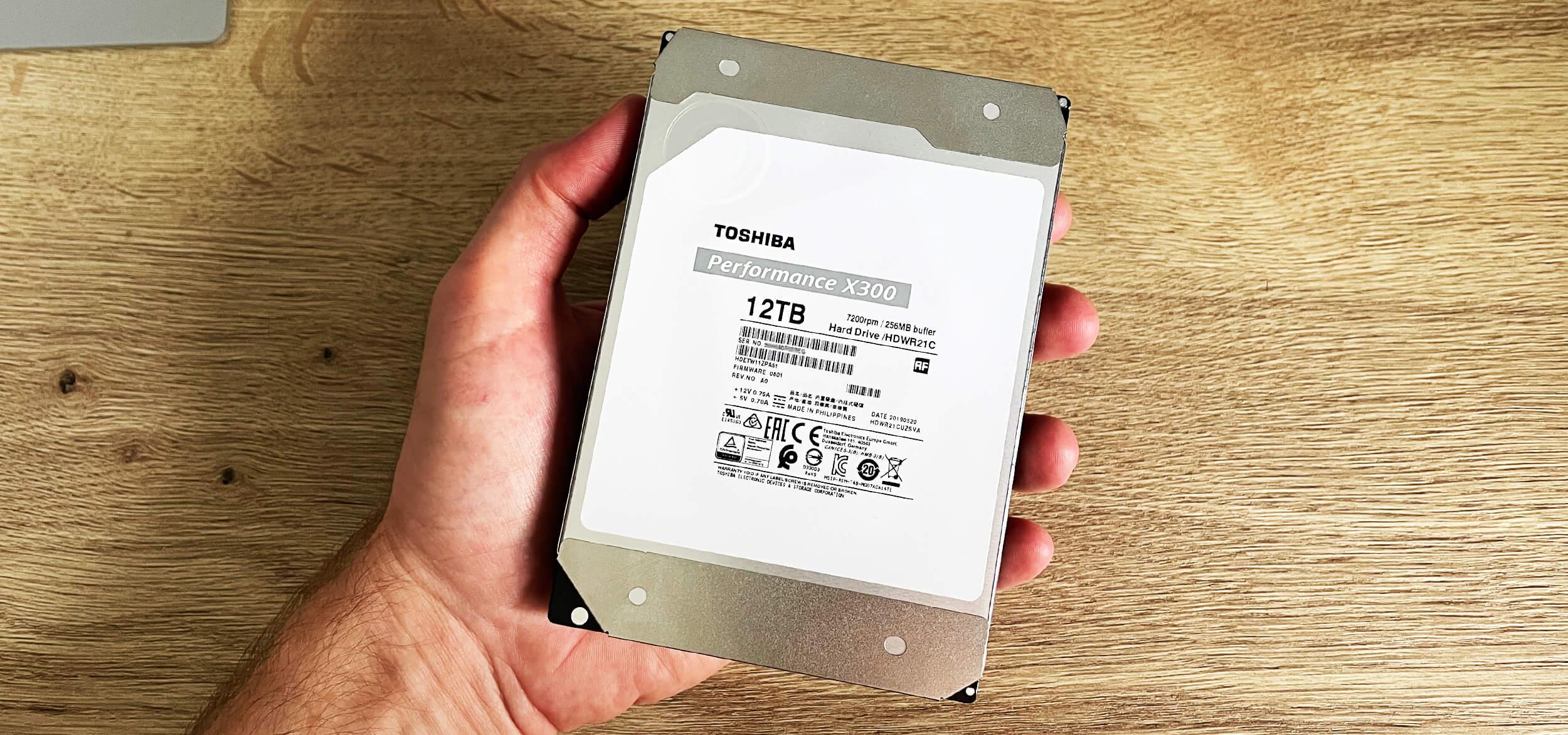 Обзор «гелиевого» HDD Toshiba X300 Performance 12 Тб — жесткое решение проблемы нехватки места