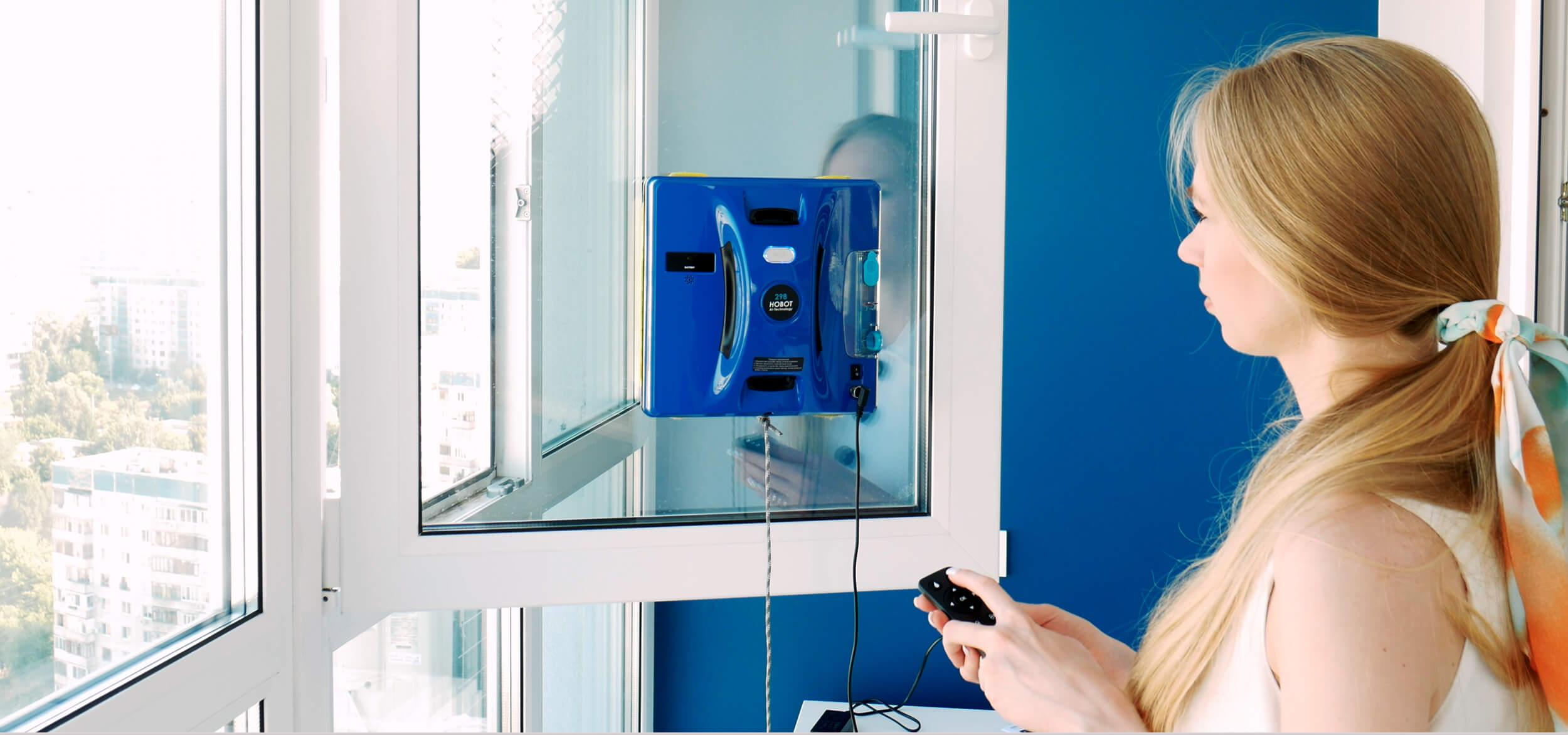 Обзор HOBOT-298 Ultrasonic – робот-мойщик окон