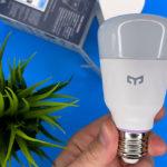 Обзор Yeelight Smart LED Bulb W3 E27 — умной RGB-лампы за 1 000 рублей