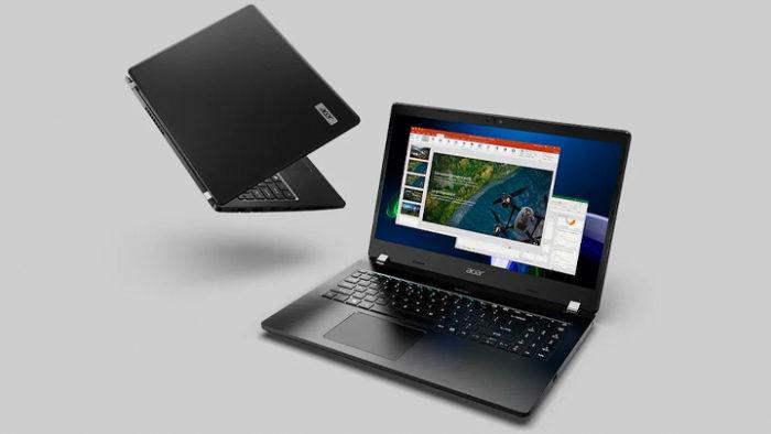 Acer представила TravelMate P2 с AMD Ryzen Pro 5000